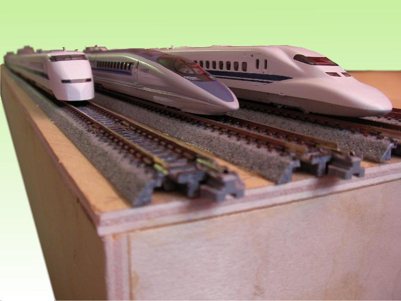 Kato shinkansen sets